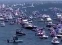 WATCH: Texas Trump Boat Parade #LakeTravis #Texas #AustinBoatParade #TrumpBoatParade