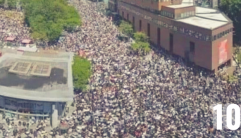 100,000 in Montreal Canada March for Freedom — They Chant 'USA-USA-USA,' Fly 'Trump 2020' Flags & Protest Overbearing COVID-19 Policies