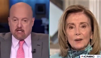 """WOW: Jim Cramer Just Called Nancy Pelosi, """"Crazy Nancy"""" – To Her Face, on Live TV — Then Tries to Blame Trump"""