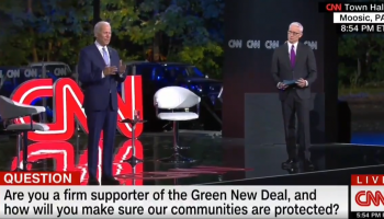 WATCH: When Answering a Question About the Green New Deal, Biden Forgets What He's Talking About and Calls for Schools to be Ventilated