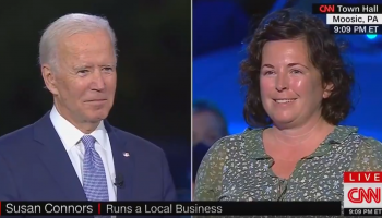 """PA Biden Supporter to Biden on Live TV: """"I Look Out Over My Biden Sign and I See a Sea of Trump Flags and Yard Signs"""""""